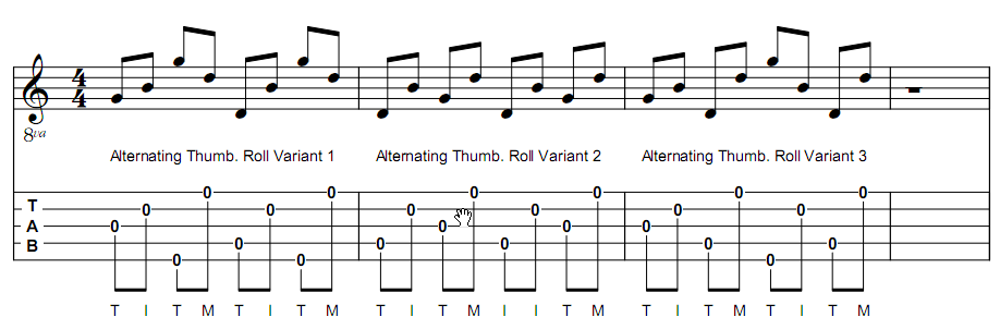 alternating-thumb-roll
